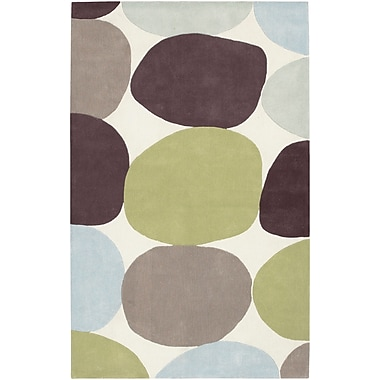 Surya Cosmopolitan COS8809-58 Hand Tufted Rug, 5' x 8' Rectangle