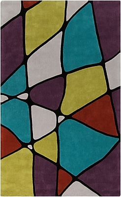 Surya Cosmopolitan COS9185-58 Hand Tufted Rug, 5' x 8' Rectangle