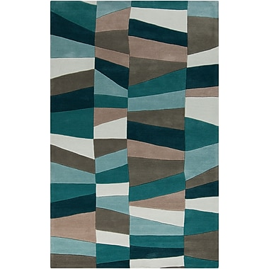 Surya Cosmopolitan COS9187-58 Hand Tufted Rug, 5' x 8' Rectangle