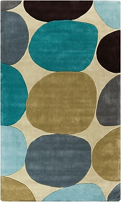 Surya Cosmopolitan COS9204-58 Hand Tufted Rug, 5' x 8' Rectangle
