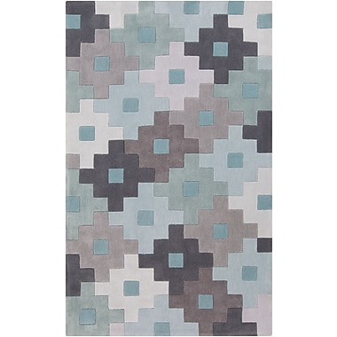 Surya Cosmopolitan COS9231-58 Hand Tufted Rug, 5' x 8' Rectangle