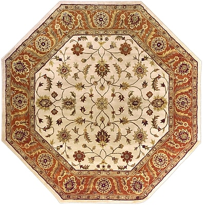 Surya Crowne CRN6004-8OCT Hand Tufted Rug, 8' Octagon