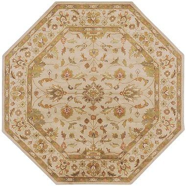 Surya Crowne CRN6011-8OCT Hand Tufted Rug, 8' Octagon