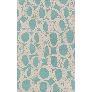 Surya Lotta Jansdotter Decorativa DCR4013-58 Hand Tufted Rug, 5' x 8' Rectangle