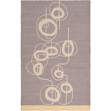 Surya Lotta Jansdotter Decorativa DCR4017-58 Hand Tufted Rug, 5' x 8' Rectangle