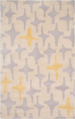 Surya Lotta Jansdotter Decorativa DCR4018-811 Hand Tufted Rug, 8' x 11' Rectangle