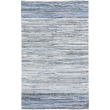Surya Denim DNM1001-811 Hand Loomed Rug, 8' x 11' Rectangle