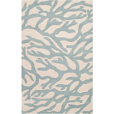 Surya Somerset Bay Escape ESP3009-58 Hand Tufted Rug, 5' x 8' Rectangle