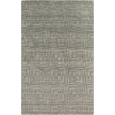 Surya Etching ETC4911-811 Hand Loomed Rug, 8' x 11' Rectangle