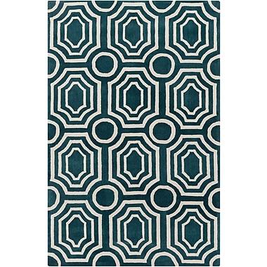 Surya Angelo Home Hudson Park HDP2102-810 Hand Tufted Rug, 8' x 10' Rectangle
