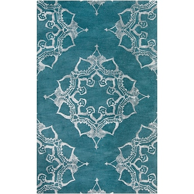 Surya Henna HEN1003-58 Hand Tufted Rug, 5' x 8' Rectangle