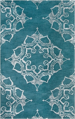 Surya Henna HEN1003-811 Hand Tufted Rug, 8' x 11' Rectangle