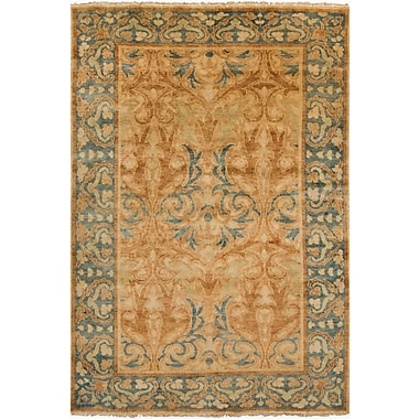Surya Hillcrest HIL9019-23 Hand Knotted Rug, 2' x 3' Rectangle