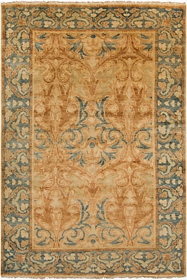 Surya Hillcrest HIL9019-811 Hand Knotted Rug, 8' x 11' Rectangle