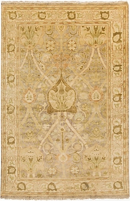 Surya Hillcrest HIL9021-913 Hand Knotted Rug, 9' x 13' Rectangle