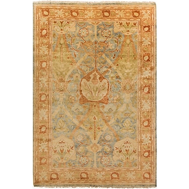 Surya Hillcrest HIL9022-23 Hand Knotted Rug, 2' x 3' Rectangle