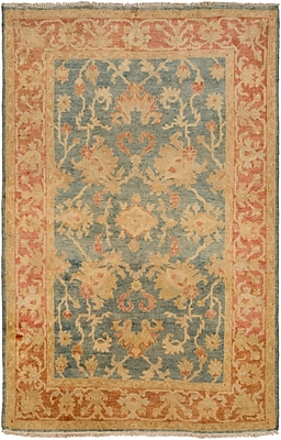 Surya Hillcrest HIL9026-23 Hand Knotted Rug, 2' x 3' Rectangle