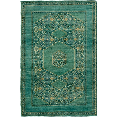 Surya Haven HVN1217-23 Hand Knotted Rug, 2' x 3' Rectangle