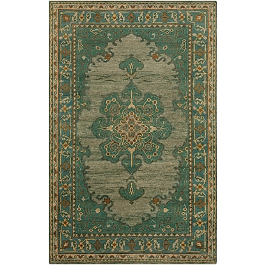 Surya Haven HVN1227-23 Hand Knotted Rug, 2' x 3' Rectangle