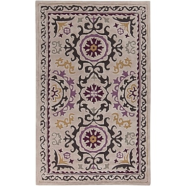 Surya Mamba MBA9022-58 Hand Tufted Rug, 5' x 8' Rectangle