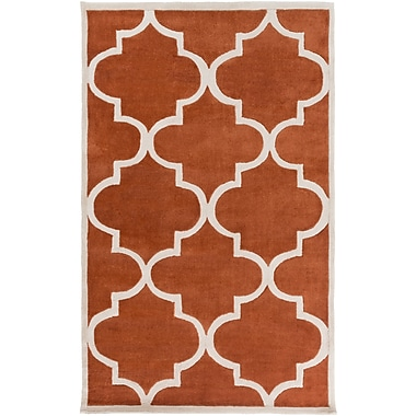 Surya Mamba MBA9066-811 Hand Tufted Rug, 8' x 11' Rectangle