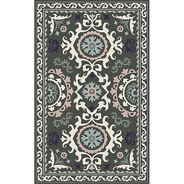 Surya Mamba MBA9070-811 Hand Tufted Rug, 8' x 11' Rectangle