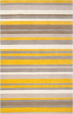 Surya Angelo Home Madison Square MDS1008-3353 Hand Loomed Rug, 3'3