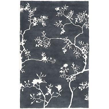 Surya GlucksteinHome Manor MNR1010-811 Hand Tufted Rug, 8' x 11' Rectangle