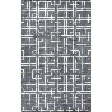 Surya GlucksteinHome Manor MNR1013-811 Hand Tufted Rug, 8' x 11' Rectangle