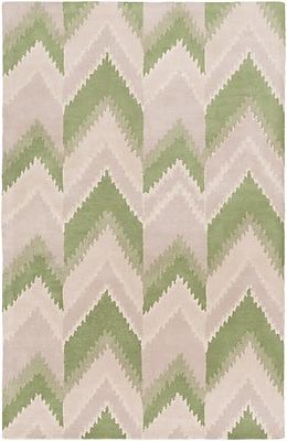 Surya Florence Broadhurst Mount Perry MTP1005-23 Hand Tufted Rug, 2' x 3' Rectangle