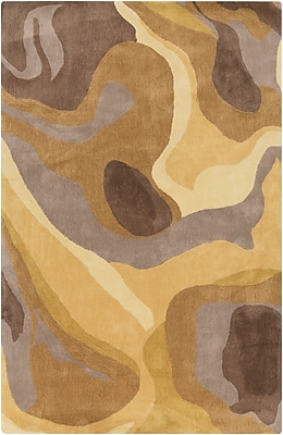 Surya Pigments PGM3001-58 Hand Tufted Rug, 5' x 8' Rectangle