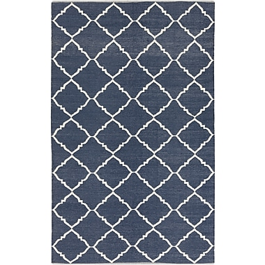 Surya Picnic PIC4001-58 Hand Woven Rug, 5' x 8' Rectangle
