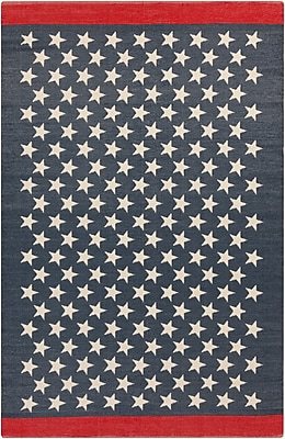 Surya Picnic PIC4011-811 Hand Woven Rug, 8' x 11' Rectangle