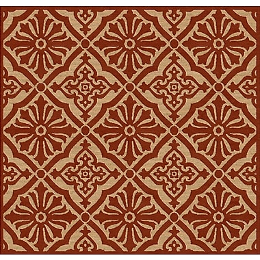 Surya Portera PRT1056-76SQ Machine Made Rug, 7'6