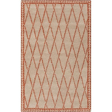 Surya Stampede SMP6001-58 Hand Tufted Rug, 5' x 8' Rectangle