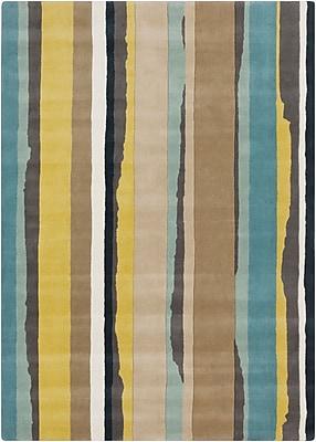 Surya Sanderson SND4502-58 Hand Tufted Rug, 5' x 8' Rectangle