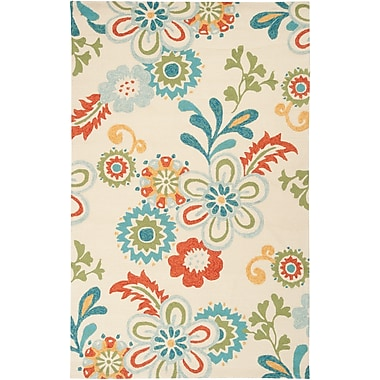 Surya Storm SOM7706-23 Hand Hooked Rug, 2' x 3' Rectangle