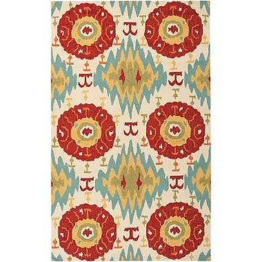Surya Storm SOM7711-23 Hand Hooked Rug, 2' x 3' Rectangle