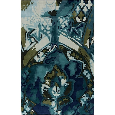Surya Swank SWA1010-23 Hand Tufted Rug, 2' x 3' Rectangle