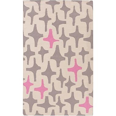 Surya Lotta Jansdotter Textila TXT3003-23 Hand Woven Rug, 2' x 3' Rectangle