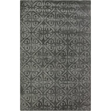 Surya Wave WVE1006-58 Hand Loomed Rug, 5' x 8' Rectangle