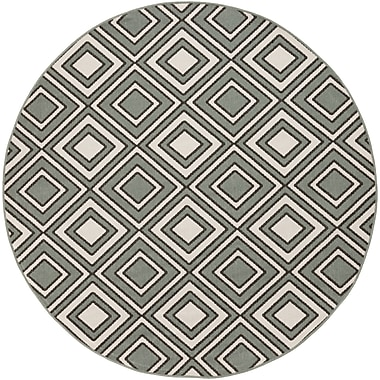 Surya Alfresco ALF9595-73RD Machine Made Rug, 7'3