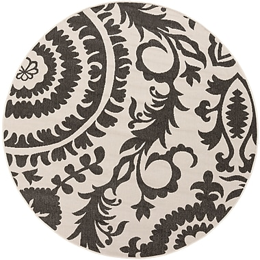 Surya Alfresco ALF9612-53RD Machine Made Rug, 5'3
