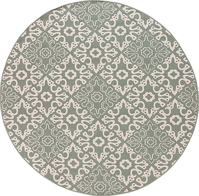 Surya Alfresco ALF9634-53RD Machine Made Rug, 5'3