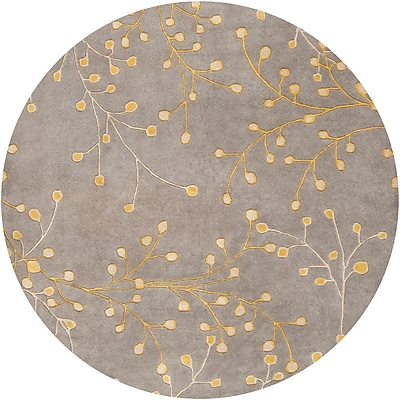 Surya Athena ATH5060-6RD Hand Tufted Rug, 6' Round