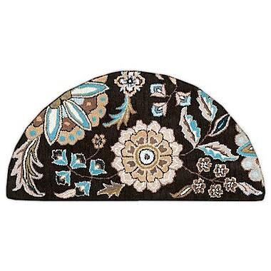 Surya Athena ATH5061-24HM Hand Tufted Rug, 2' x 4' Semi-Circle