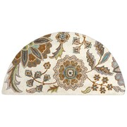 Surya Athena ATH5063-24HM Hand Tufted Rug, 2' x 4' Semi-Circle
