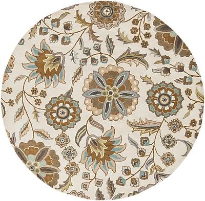 Surya Athena ATH5063-6RD Hand Tufted Rug, 6' Round