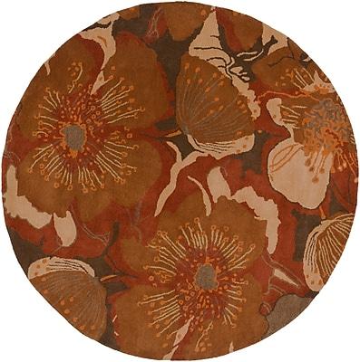 Surya Athena ATH5102-6RD Hand Tufted Rug, 6' Round