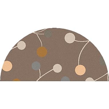Surya Athena ATH5107-24HM Hand Tufted Rug, 2' x 4' Semi-Circle